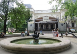 Theater from the park side