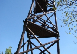 Observation tower on Mount Baranie - Magura National Park