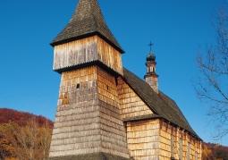 Church St. Mikołaj from Bączal Dolny