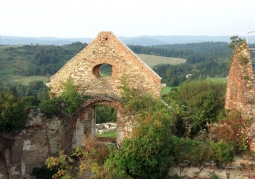 Photo: View from the ruins