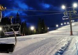 Ski resort of Złoty Groń